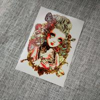Quality Nonmetallic temporary tattoo beauty HB001 for sale