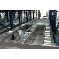 Quality 1000kg Logistic distribution central gravity flow racks with roller track , customized for sale
