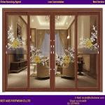 Quality 2015 best selling Balcony swing opening aluminum Bi-folding doors for sale