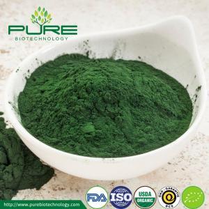 Quality NOP Certified Organic Green Spirulina Powder for sale
