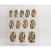 Quality Colored 3D Nail Art Fake Nails / nail tips natural looking for wedding for sale