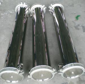 Buy cheap Side Port RO Membrane Housing Membrane Pressure Vessels For Seawater Ionizeesali from wholesalers