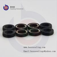 China CARBON GRAPHITE GLASS MOS2 Filled PTFE Spring Energized Face Seal,Spring Energized Face Lip Seal on sale