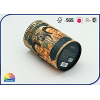 Buy Eco 157gsm Coated Paper Tube Gift Box Matte Lamination at wholesale prices