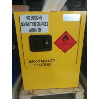 Buy cheap Yellow Dangerous Goods Cabinets For Liquid , Industry Paint Safety Storage from wholesalers
