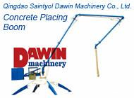 China 13m 15m 17m 29m 33m Mobile and Tower Concrete Placement Boom Jumbo Placer on sale