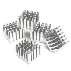 China Powder Coating Cast Aluminum Heat Sink Cold Forging Flexible High Ensity on sale