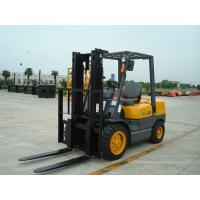 Quality Warehouse Diesel Operated Forklift High Efficiency 3.5 Ton Load Capacity for sale