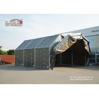 Quality Aluminum Frame Temporary Aircraft Hangar Tent Structure With PVC Roof For Military for sale