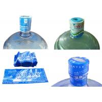 Quality 5 Gallon Water Bottle Neck Seal Shrink Sleeve With Custom Printing for sale