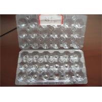 China Disposable PET PEC Plastic Egg Trays 18 Cells Pulp Moulding Process Type on sale