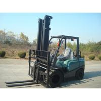 EPA Approved 4 Tonne Gasoline Forklift Truck Material Handling Machines Dual Front Tires