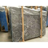 Quality Decorative Grey Marble Floor Tiles Pattern Polished With White Veins for sale