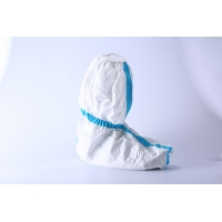 Quality TKMD Medical Disposable Shoe Covers FDA510K Non Skid Boot Covers for sale