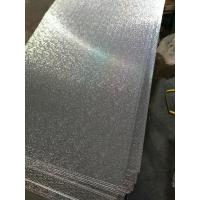 China High Reflective Embossed Aluminum Panels 1050 1060 With High Durability on sale