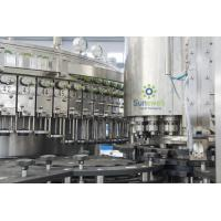 China Automatic Beer Washing Filling Machine , Glass Beer Capping Machine on sale