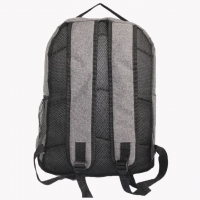 Quality Simple Grey Backpack Computer Bag For Business Travel for sale