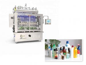 Quality Min 4200 Bottle / Hour Bottle Filling Capping Labeling Machines for sale