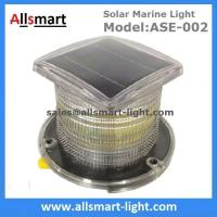 Buy cheap 15LED Solar Marine Aquaculture Lights ASE-002 Buoys Navigation Hazard Warning Lights Flash Steady Type Solar Dock Light from wholesalers