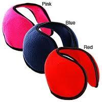 Quality Shape - memory materials wrap around ear muffs Warm Headphone with Speaker for sale