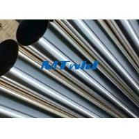 Quality TP321 / 321H ERW Stainless Steel Welded Tube For Sewage Engineering for sale