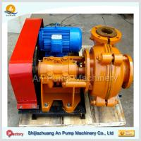 Quality Gold mining centrifugal low abrasive rubber slurry pump for sale