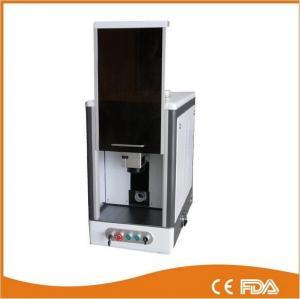 Buy cheap Full enclosed model fiber laser marking machine, laser power 20W from wholesalers