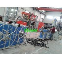 Quality Flexible Plastic Corrugated Pipe Production Line For Swimming Pool Electrical Conduit for sale