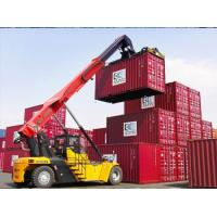 Buy cheap Customized Reach Stacker Forklift High Efficiency 45 Ton Weather Resistance from wholesalers