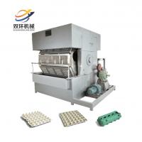China Paper Egg Tray Manufacture Machinery Molding | Egg Tray Making Machine Price on sale