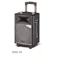 Buy Wireless Bluetooth Rechargeable Trolley Speaker System / Active Outdoor Speakers at wholesale prices