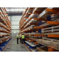 Quality Vertical Heavy Duty Cantilever Racking Systems , cantilever storage racks for sale