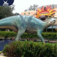 Buy cheap Giant Outdoor Life Like Dinosaur Model Equipment Eyes Blink , Tail Movement from wholesalers