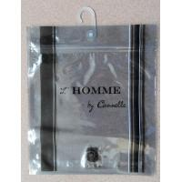 Quality Anti Static Aluminium Foil Bag With Plastic Hook For Underwear / Shorts for sale