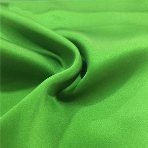China Matte Satin Chiffon Fabric Silk - Like Smooth For Fashion Garments / Decorations on sale