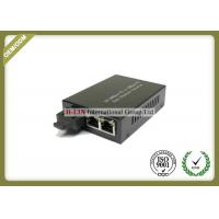 Quality 10/100M Fiber Optic Media Converter Single Mode With External Power Supply for sale