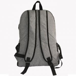 Quality Outdoor Reflective Laptop Travel Backpack With Headphone Hole for sale