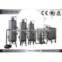 Quality Drinking Water Treatment Systems With Ozone Sterilizer , Active Carbon Filter for sale
