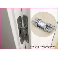 China GB Zinc Alloy German Hinges 3D Adjustable Concealed Cabinet Door Hinges on sale