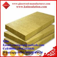 100kg/m3 Rockwool insulation board of coning