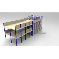 Quality Ground + Two Flooring Shelving With Mezzanine Floors for sale