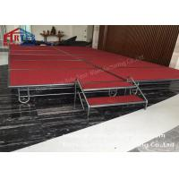 Buy cheap Adjustable Height Folding Platform Stage , Aluminum Folding Stage Easy from wholesalers