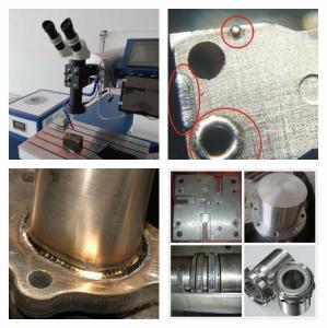 Mini Size Fiber Laser Welding Machine , Parts Laser Spot