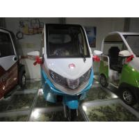 Pure Electric Passenger Vehicles , 3 Wheel Electric Tricycle For Passenger