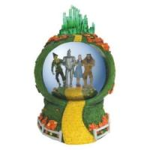Quality Santa plastic snow globe for sale