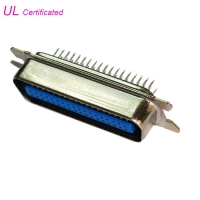 Quality 50 36 24 14 Way Straight PCB Connector , Male Centronic Connector MD Shell for sale