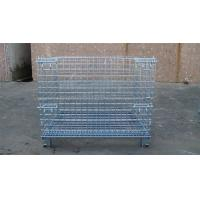 Quality Heavy Weight Loading Wire Container Storage Cages Galvanized Welded Storage Cage for sale