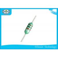Lead Free Fixed Inductor 0.1uH - 1mH 0307 Color Code Inductor For Choke Coils