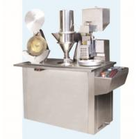 China Granules Feeding / Powder Capsule Filling Machines Semi Automatic For Pharmaceutical Factory on sale