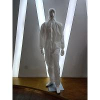 Quality Non Woven  Disposable Isolation Gown / Disposable PPE Coveralls for sale